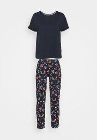 Marks & Spencer London - FLORAL - Pyjamas - navy mix - 4