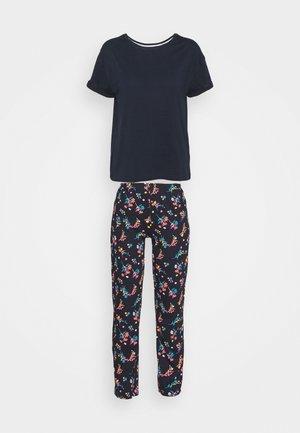 FLORAL - Pyjamas - navy mix