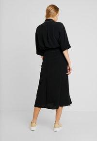 Monki - HALO SKIRT - A-line skirt - black dark - 2