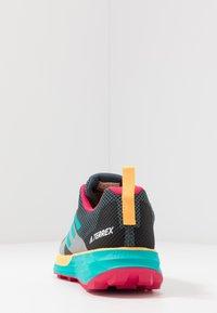 adidas Performance - TERREX TWO GORE-TEX - Zapatillas de trail running - blue/solar gold - 3