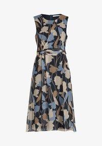 Betty & Co - Day dress - dunkelblau weiß - 2