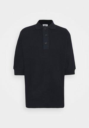 HEAVY - Polo - black/navy