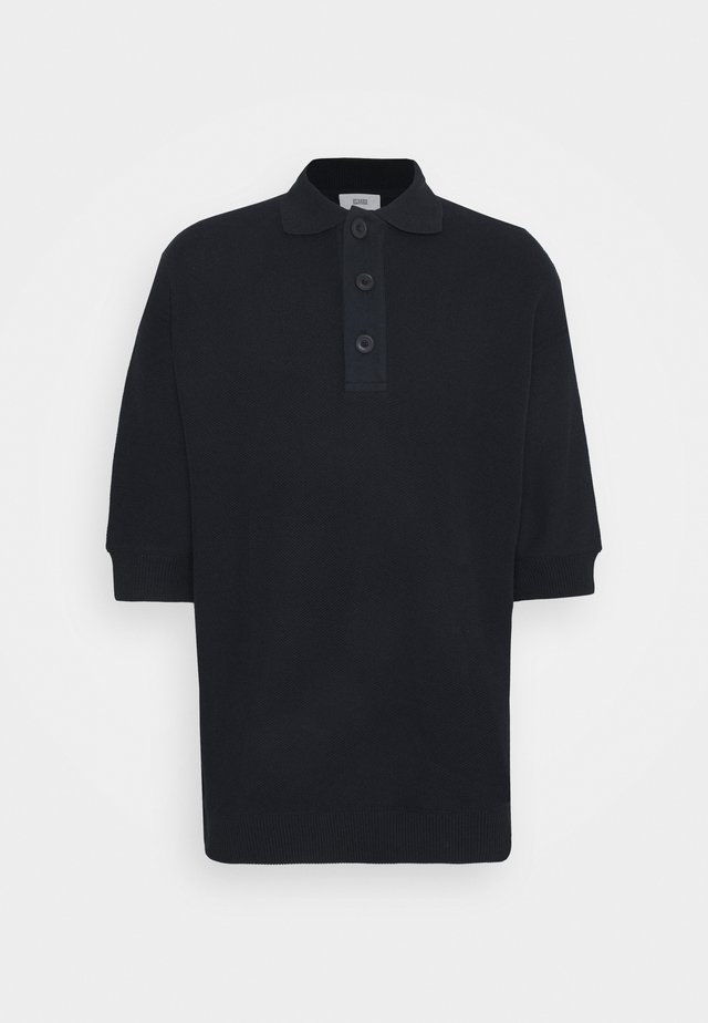 HEAVY - Polo - black/navy