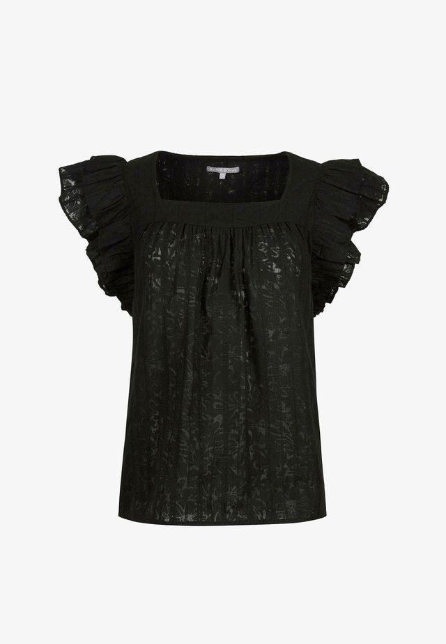 FLORAL  - Blouse - black