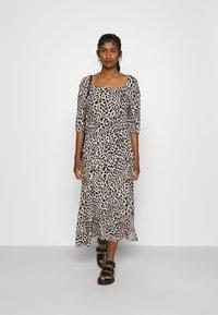 b.young - JOELLA SMOCK DRESS  - Day dress - birch - 1