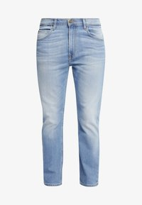 Lee - RIDER CROPPED - Jeansy Slim Fit - mottled light blue - 5