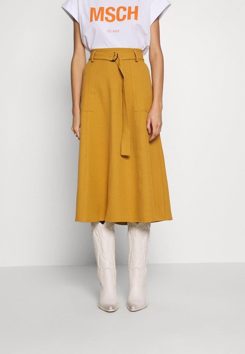 Gestuz - LIYA SKIRT - A-line skirt - bone brown