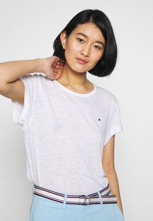 VIKKI ROUND - Basic T-shirt - white