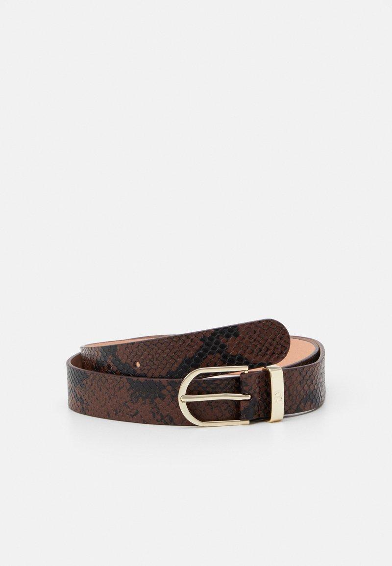 AIGNER - Belt - bitter chocolate brown