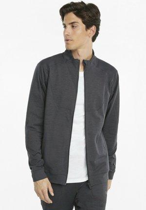 CLOUDSPUN FULL-ZIP - Training jacket - puma black heather