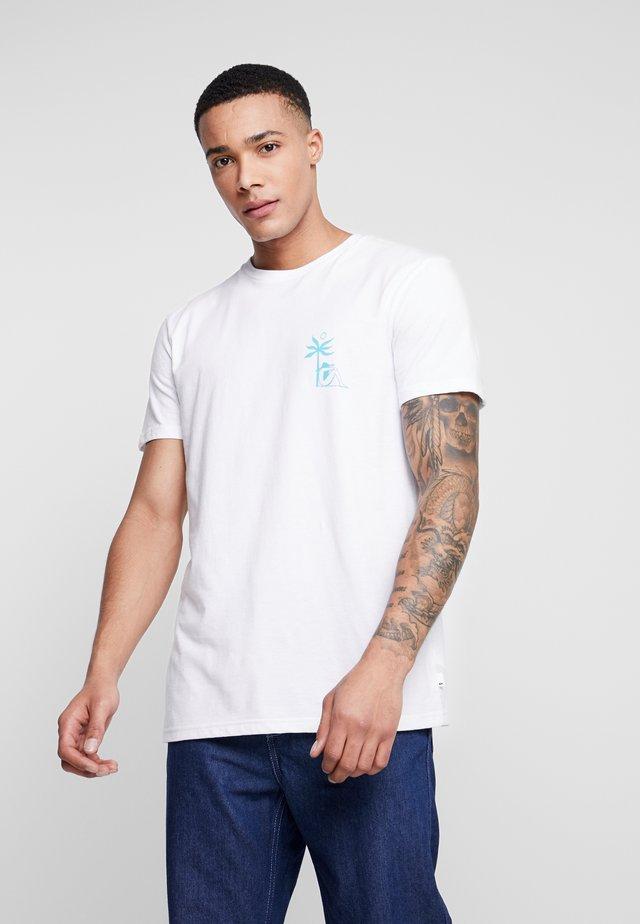 MORNINGBIRDSS - T-shirt con stampa - white