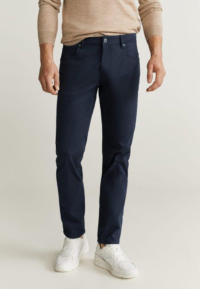 PISA - Trousers - dark navy blue