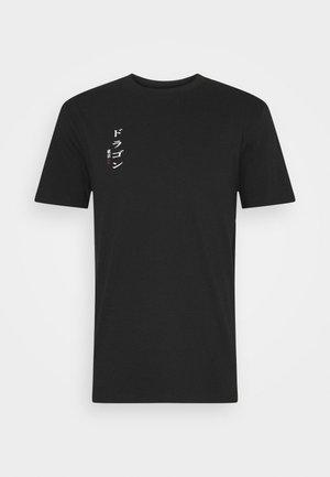 ONSHARU LIFE  TEE - T-shirt z nadrukiem - black