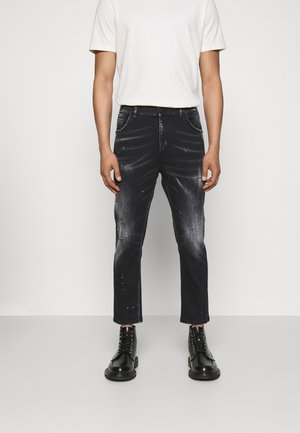 PANTALONE ALEX - Jeans Straight Leg - black