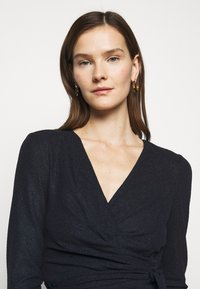 Lauren Ralph Lauren - BONDED DRESS COMBO - Shift dress - lighthouse navy - 3