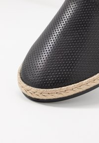 Anna Field - LEATHER - Espadrilles - black - 2