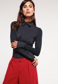 Expresso - XANI - Button-down blouse - navy - 0
