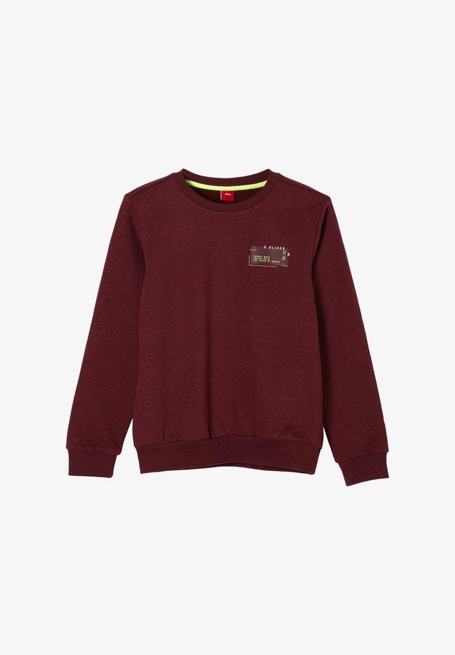 Sweater - bordeaux melange