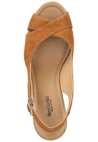NeroGiardini - High heeled sandals - tabacco - 3