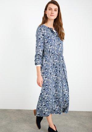 Shirt dress - blau mehrfarbig