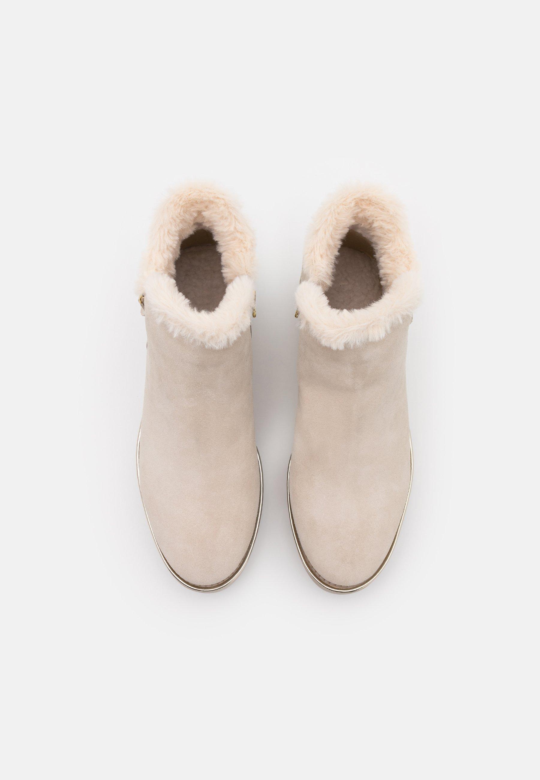 Tamaris Boots - Kilestøvletter Beige/beige