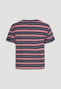 O'Neill - KNOTTED  - Print T-shirt - pink with blue - 4