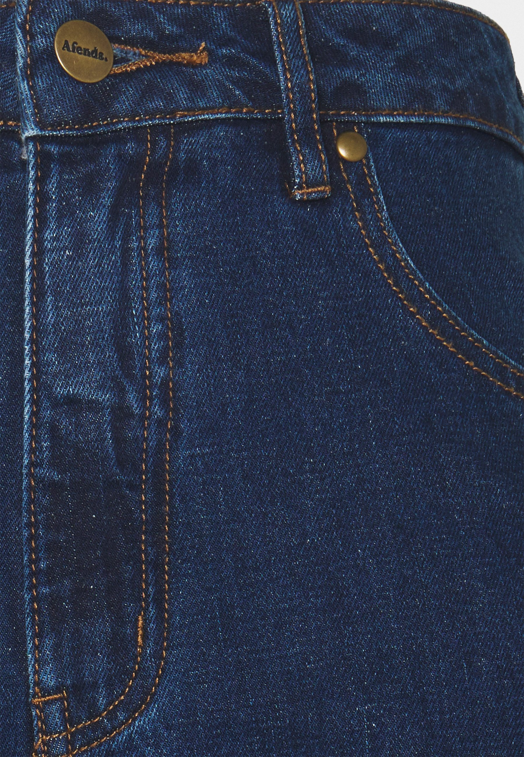 Afends SHELBY - Jean droit - indigo rinse - Jeans Femme 9joeS
