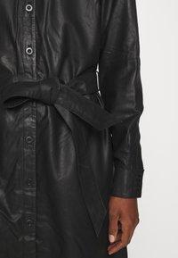 Kaffe - KALEANN DRESS - Shirt dress - black deep - 6