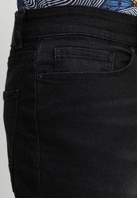 Burton Menswear London - USED - Slim fit jeans - black - 3