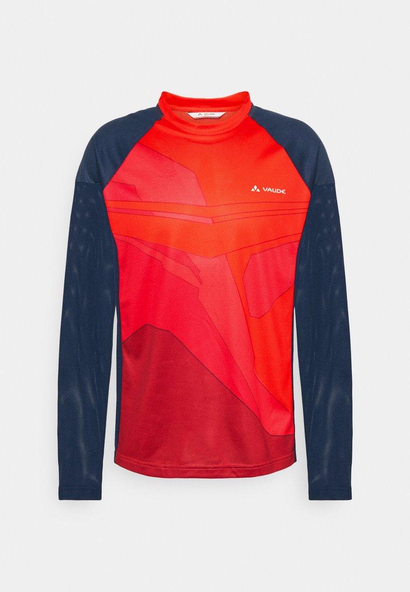 Vaude - MENS MOAB - T-shirt à manches longues - mars red