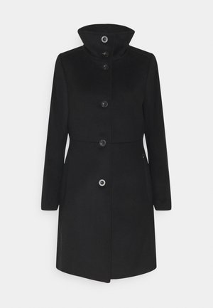 BASIC COAT - Mantel - black