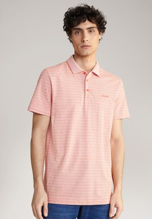 PANCRAS - Polo shirt - orange gestreift