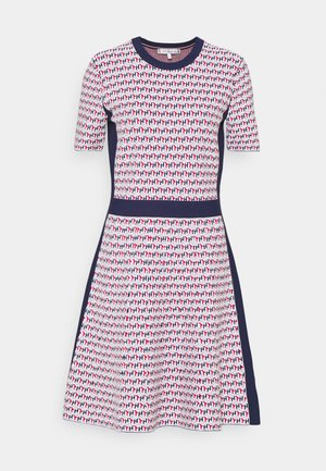 CUBE KNEE DRES - Jumper dress - red