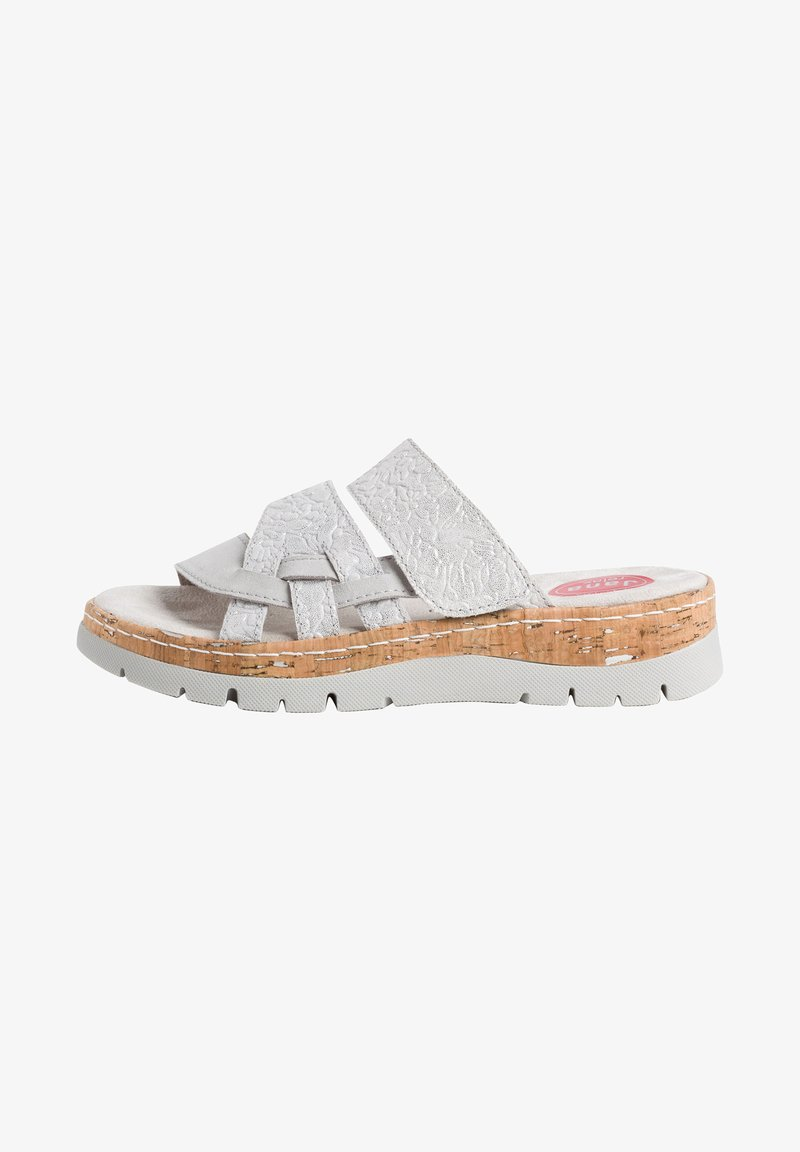 Jana - Slippers - grey/silver