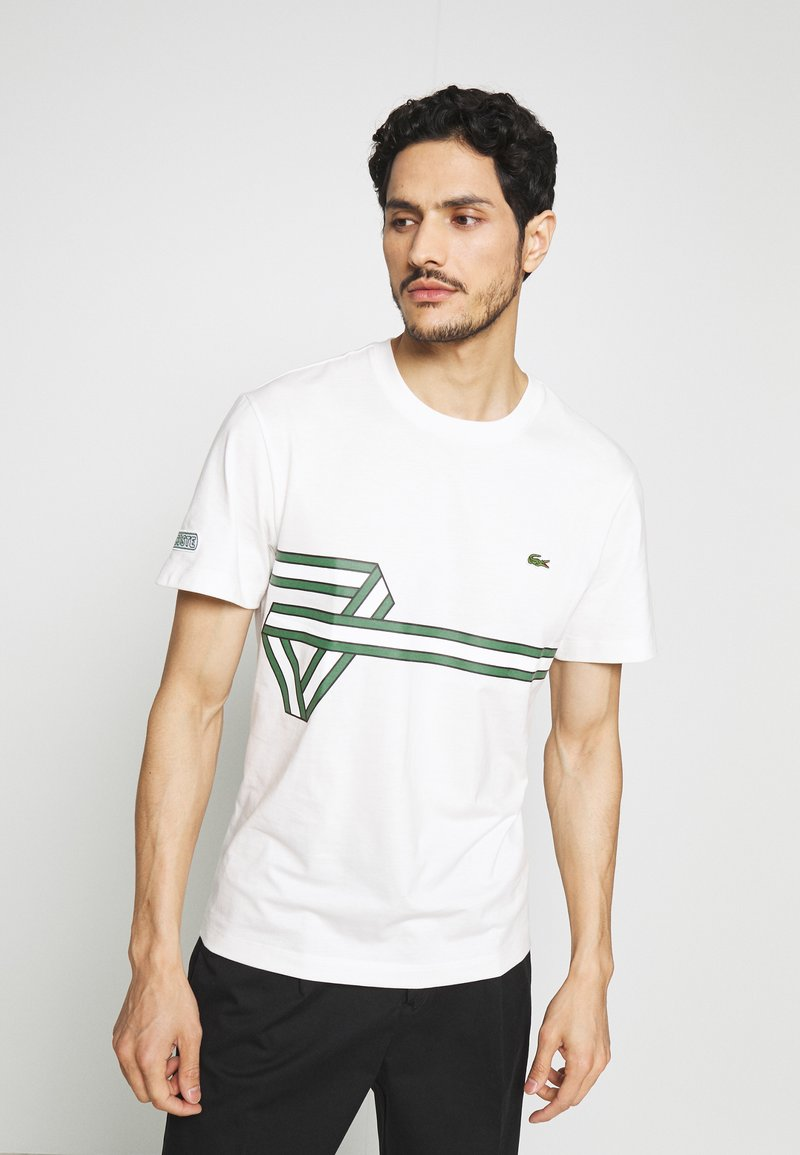 Lacoste - T-Shirt print - flour