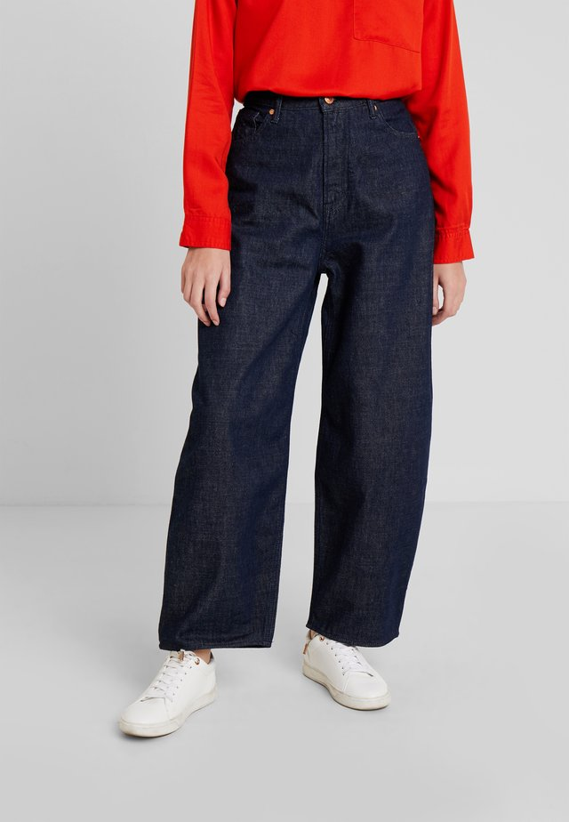 LEILA - Jeans baggy - gleen rinse