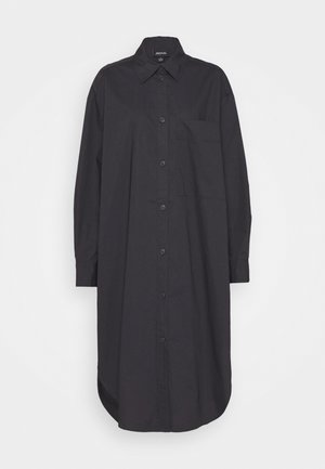 CAROL DRESS - Shirt dress - grey dark