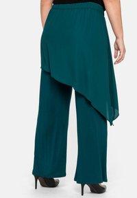 Sheego - Trousers - deep green - 2