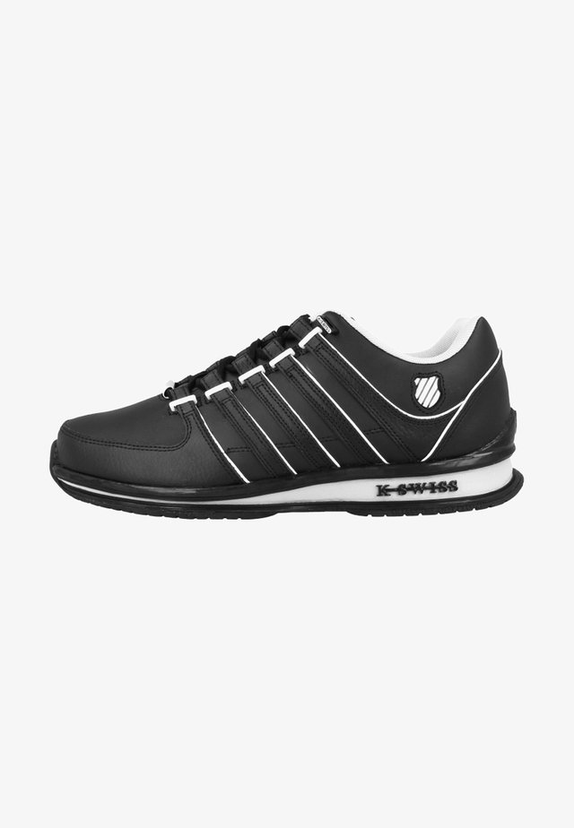 RINZLER SP - Trainers - black/gull gray/bone