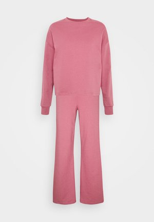 TRACKSUIT SET JOGGERS AND SWEATSHIRT - Chándal - pink