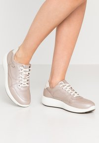 ECCO - SOFT 7 RUNNER - Sneakersy niskie - beige - 0