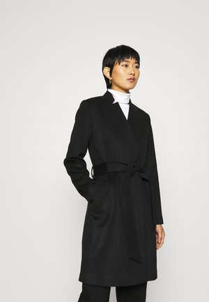 SLFMELLA COAT - Klassisk kappa / rock - black