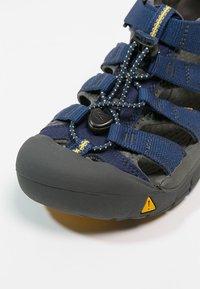 Keen - NEWPORT H2 - Chodecké sandály - blue depth/gargoyle - 5