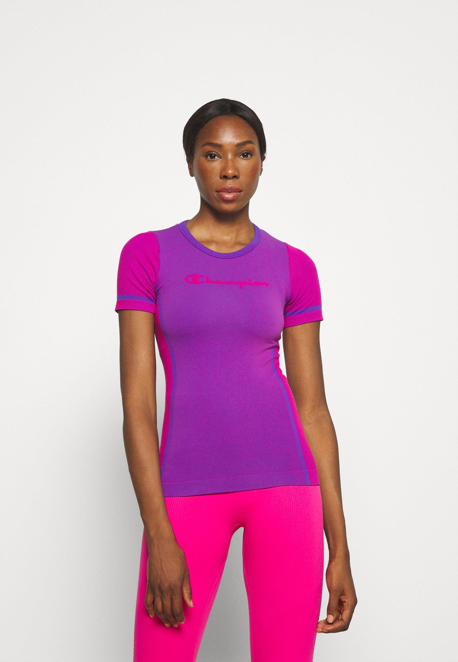 Damen SEAMLESS CREWNECK - T-Shirt print