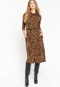 LolaLiza - Jersey dress - brown - 1