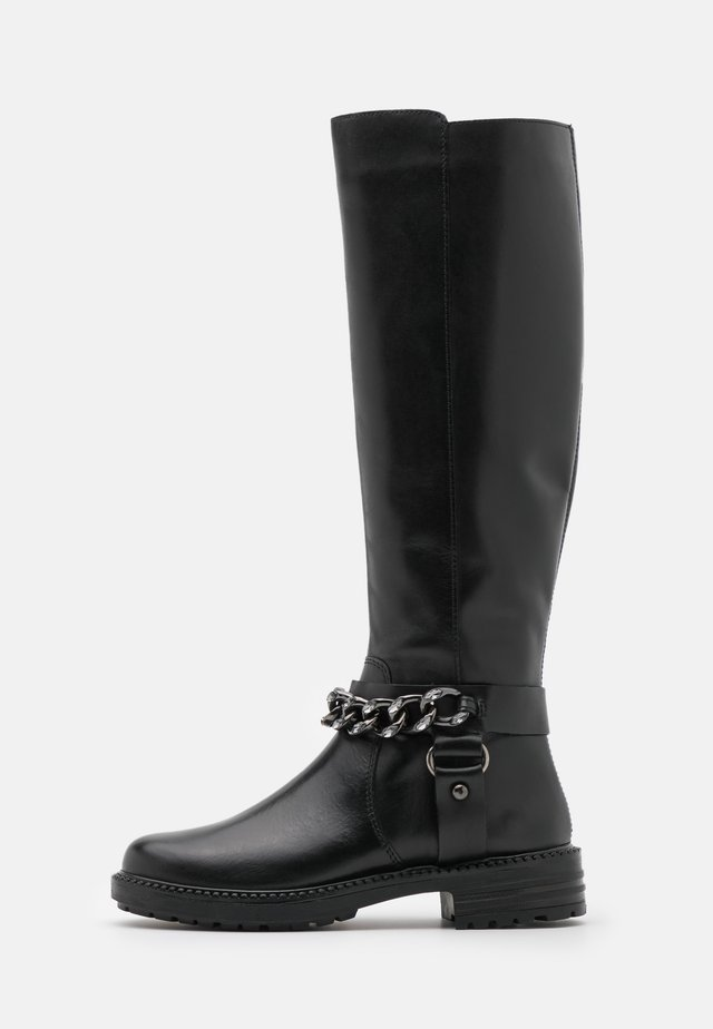 BRINE - Høje støvler/ Støvler - black