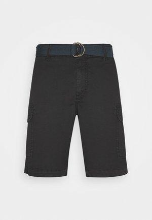 WITH BELT - Shorts - black