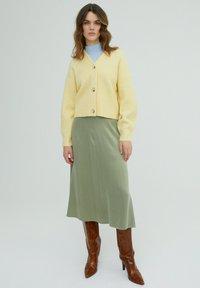 EDITED - ROCK MERCY - A-line skirt - grün - 1