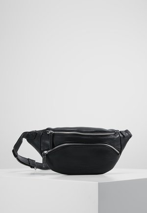 DUST BUMBAG - Ledvinka - black