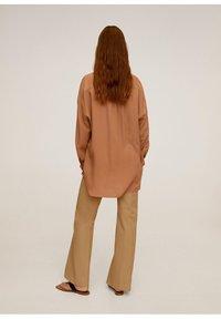 Mango - RORO - Button-down blouse - middenbruin - 2
